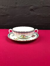 Spode Trapnell Sprays Y8403 Soup Coup Bowl and Saucer / Stand 5 Available RARE