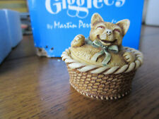 Gigglees by Martin Perry - Nap Time Roly Kitty