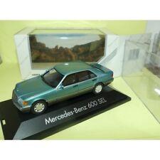 Mercedes 600 Sel Vert Herpa 1 43