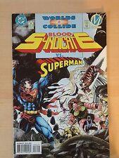 Blood Syndicate # 16 1994 Superman Worlds Collide # 6 Vf Dc Comics Milestone
