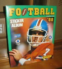 1988 PANINI NFL FOOTBALL COLLECTORS ALBUM - MINT!