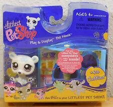 Littlest Pet Shop Play Pet Cuddliest Nook Polar Bear Ice Cream Shop #470
