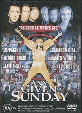 ANY GIVEN SUNDAY -  Al Pacino, Dennis Quaid, Cameron Diaz - DVD