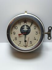Vintage Clock Comandant MADE IN RUSSIA .Not Working.
