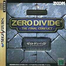 Zero Divide The Final Conflict SEGA SATURN Japan Version