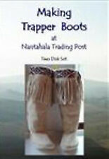 DVD-How to Make Plains boots  moccasins, 2 Disc set