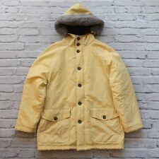 Vintage 90s JCREW Quilted Lined Snorkel Coat Jacket Size XS M Winter