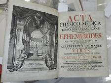 1748 - NORIMBERGA – ACCADEMIA FISICO-MEDICA VOLUME OTTAVO
