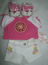 """Build-A-Bear 6 Piece """"Cheerleading"""" Outfit"""