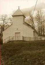 SCHUYLER VA St. Joy Church nr Scottsville Waltons Home b postcard