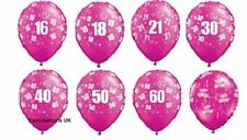 Qualatex Birthday, Adult Oval Party Balloons