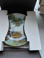 Knowles china collectable plate the northern shoveler TC12101AA