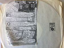 """THE SIGNAL TO NOISE SET"" SAMPLE LP -1984 - 9 MELBOURNE INDIE ELECTRO BANDS - UK"