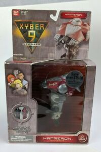 1999 Bandai Xyber 9 Hammeron Attack Fighter & Mini Figures Sealed Box