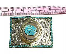 Imperial Russian turquoise 84 kokoshnik buckle Ivan Bricin Faberge Work Shop