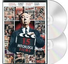 Alfred Hitchcock 15 Hitchcock Films DVD Sabotage,Jamaica Inn,Blackmail,Murder++