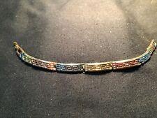 "Tri-Colour Ladies 7"" Bracelet (ref T351)"
