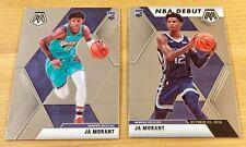 2019-20 Panini NBA Mosaic - Ja Morant lot (Memphis) - Rookie Card & NBA Debut
