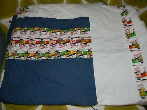 2008 IKEA LUSY Sigga Heimis 100% Cotton 3pc DUVET full/queen size pillowcases