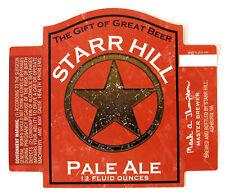 Starr Hill PALE ALE beer label  Ashburn VA 12oz - Var. #2