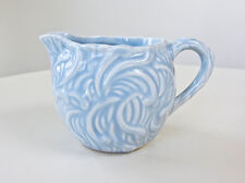 Vintage 1930s Chrys Ceramic Embossed Creamer / Pitcher, Made in England