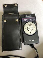 Shepherd XE-88 Flash Meter with case.