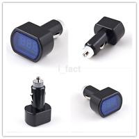 New Digital LED Auto Car Cigarette Lighter Volt Voltage Gauge Meter 12V/24V UK