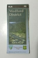 Map Medford District BLM Douglas County Oregon 2004