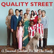 Nick Lowe Quality Street Seasonal Selection Vinyl LP Record & CD Christmas NEW!+