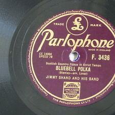 78rpm JIMMY SHAND bluebell polka / the veleta