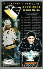 Jaromir Jagar Signed Auto 2000-02 Pittsburgh Penguins Media Guide Jsa Cert