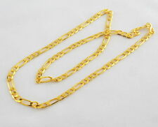 "UK Ethnic Fashion Jewelry Gold Plated Men's Chain Necklace Mala 22"" Long Chain"