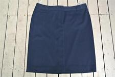 W-Lane Label Size 16 Smart Navy SKIRT NEW rrp$69.99 Stretch fabric NEW Straight