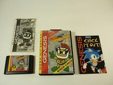 MEGA BOMBERMAN - Sega Genesis - COMPLETE Game in HARD CASE - TESTED - !!