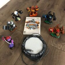 Skylanders Giants Bundle Wii With Game Portal And 5 Figures Very Good