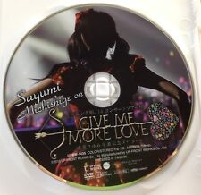 Rare Sayumi Michishige on DVD Morning Musume 14 Live GIVE ME MORE LOVE idol JP