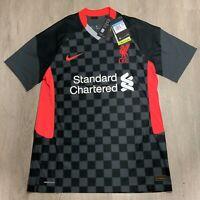 Nike 2020-2021 Liverpool Soccer Vaporknit Third Jersey Medium  CZ3200-060 $165