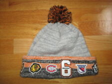 The Original Six NHL CANADIENS LEAFS BRUINS HAWKS RANGERS RED WINGS Knit Cap