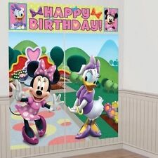 Birthday, Child Minnie Mouse Party Scene Setters
