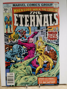 THE ETERNALS #8 VG/F - MARVEL COMICS - MOVIE SOON - ONE OWNER COLLECTION