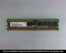 Qimonda HYS72T128000HR-5-B DDR2 1GB PC2-3200 Reg ECC 400Mhz 1Rx4 RAM Memory