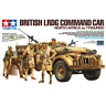 Tamiya 32407 British LRDG Command Car North Africa (w/7 Figures) 1/35