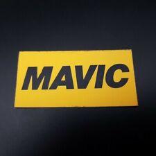 "Sticker ""MAVIC"" NOS (Ref 01)"