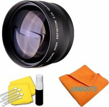 58MM HD 2.2X TELEPHOTO ZOOM LENS FOR CANON EOS REBEL T6 DSLR WITH 18-55MM LENS