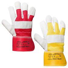 12-120 Paar Arbeitshandschuhe Leder Handschuhe Rindspalt Lederhandschuhe Gr. 10