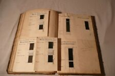 c1900 YORKSHIRE Sketches COAL Mine SEAM SECTIONS Museum Archive Material