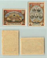 Russia USSR 1951 SC 1553-1554 Z 1525-1526 MNH . e3935