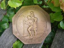 1. GROSSGLOCKNER RENNEN  1935 - GROSSE PLAKETTE BADGE