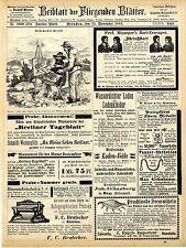J. Engels Frankfurt a. M. Importeur v. Seemuscheln Beste Dampfpumpen Klei...1883