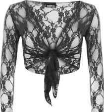 Maglie e camicie da donna neri floreali Taglia 42